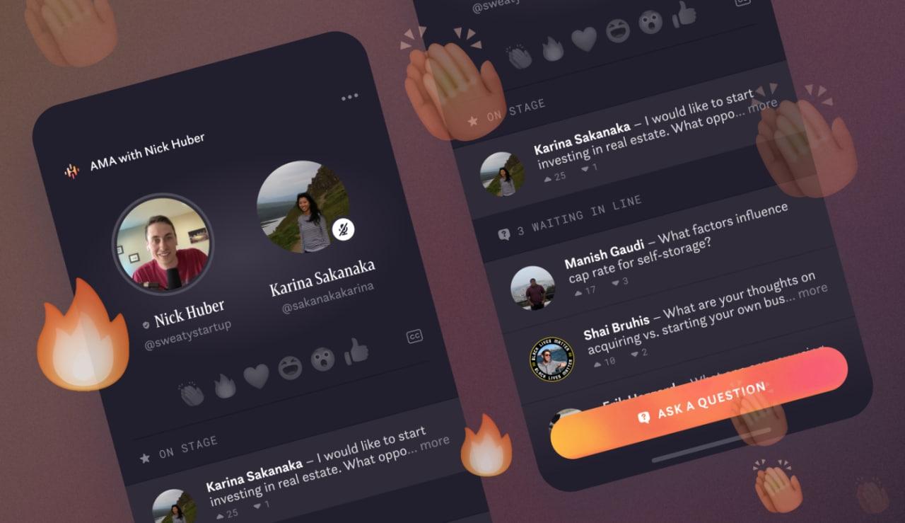 Forwarded from :Facebook запустила Hotline — конкурента Clubhouse и… InstagramГруппа экспериментов Facebook (NPE Team) выпустила приложение Hotline, которое Techcrunch называет чем-то средним между Clubhouse и Instagram Live.  В нем авторы могут общаться с