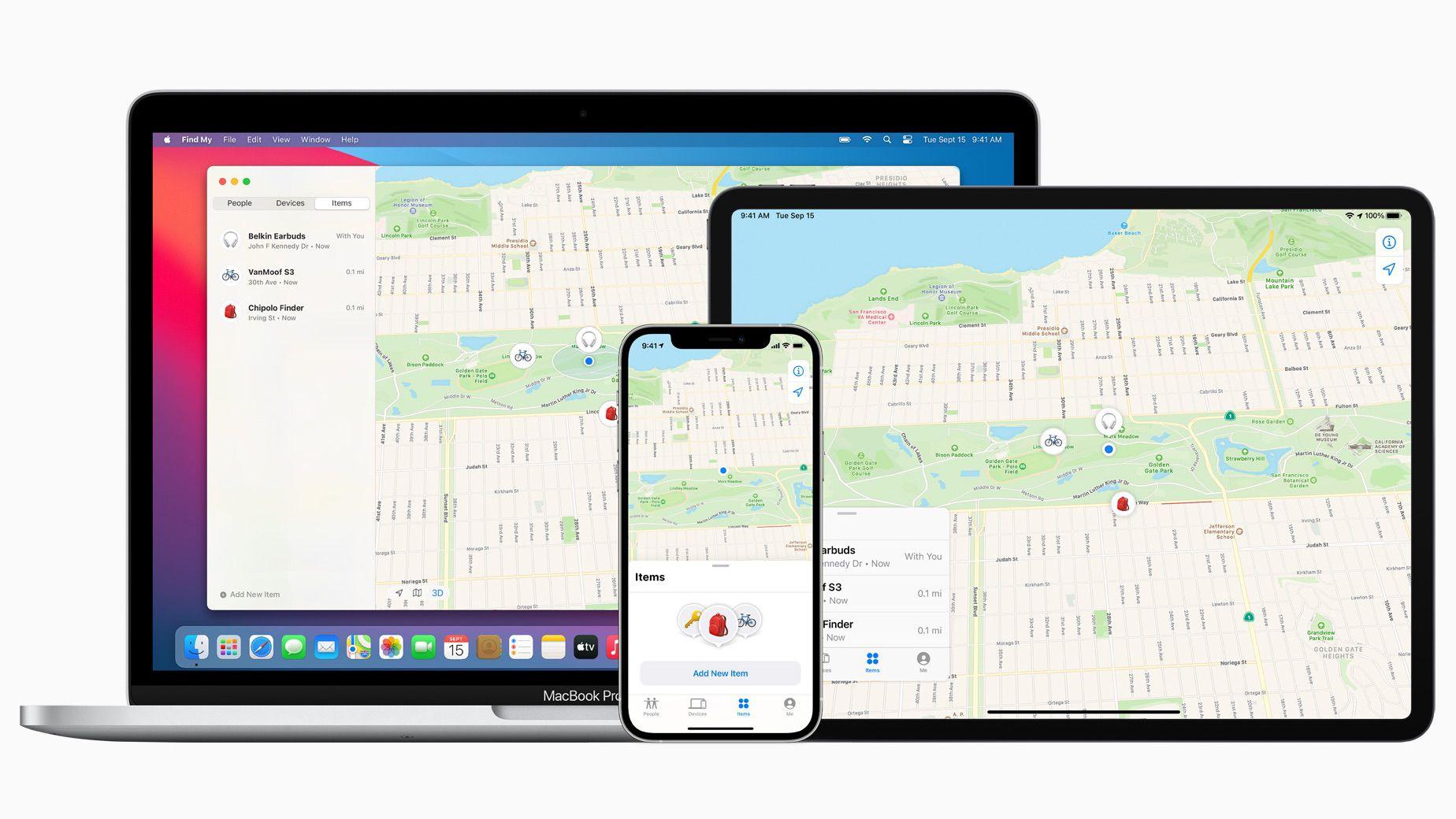 Эппл обновили программу Find My, теперь с ее помощью вы можете найти и сторонние устройства от Belkin и VanMoof, остальные блютус устройства приглашаются к партнерству.На всякий случай, чтобы было понятно - по сути все айфоны мира собирают информацию о блю